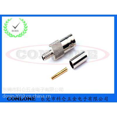 供应BNC母头RG316焊线式视频连接器