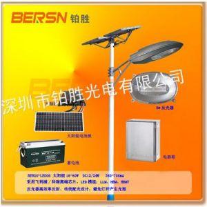 供应高品质长寿命具有定时调光关灯功能新农村风兴互补太阳能路灯