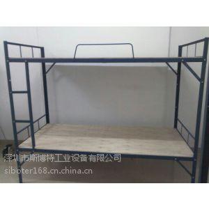 供应供应深圳铁床厂家、东莞单双层铁床厂家、方管床、圆管床、公寓床