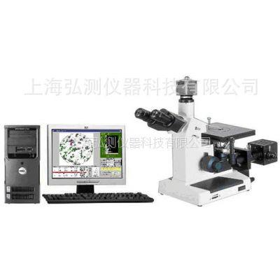 HCJX4XC-ST型 图像处理数据分析型三目倒置金相显微镜【上海弘测】