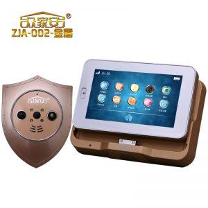 供应众家安智能高清可视猫眼、防盗门铃、高清显示屏、电子猫眼