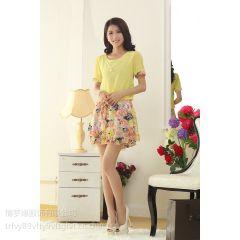 供应摆地摊卖的女人服装时尚雪纺裙批发吊带裙批发厂家直销