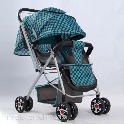 新品爆款双向儿童车轻便型婴儿车超强减震儿双向婴儿手推车