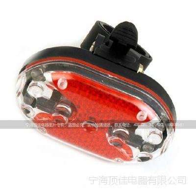 DJ-P062 5粒LED自行车尾灯/自行车灯/ 骑行装备 警示灯厂方直销