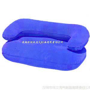 专业生产PVC充气沙发 厂家供应吹气懒人沙发 供应植绒懒人沙发