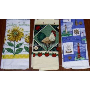 供应【生产厂家】供应:茶巾、印花茶巾、厨房巾
