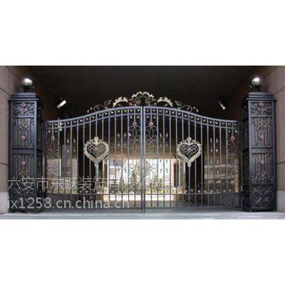 供应【叶集铁艺门窗】、欧式铁艺门窗、铁艺门窗工程、六安东跃装饰