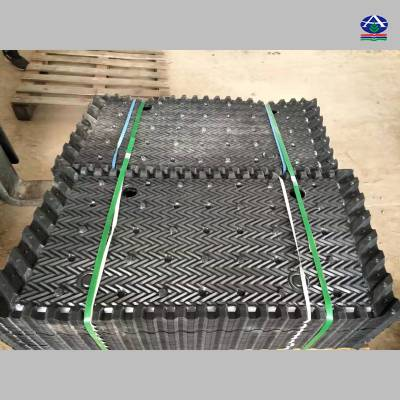 闭式冷却塔填料哪里有卖的?空研冷却塔填料、蒸发冷填料厂家直销-河北华强13785867526