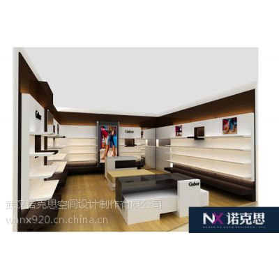 武汉鞋业展柜柜台设计定制