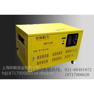 供应220V汽油发电机贸易/12KW水冷汽油发电机
