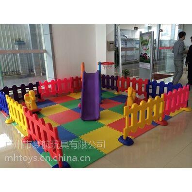广州惠州幼儿园围栏儿童栅栏婴儿安全栏4S专用护栏价格找广州梦航