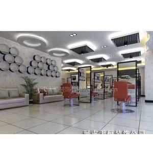 郑州的美发店装修设计 时尚美发店面设计装饰公司