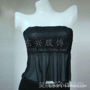 供应872#百搭蕾丝长款裹胸 打底抹胸 透气网纱抹胸 少女内衣 带隐形带
