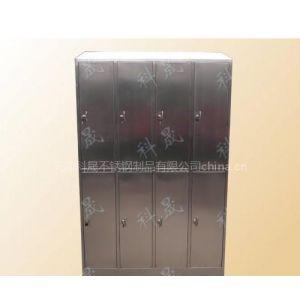 天津科晟不锈钢八门更衣柜 D-4 SUS201/SUS304
