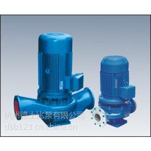 供应ISG80-160立式离心泵 ISG管道泵 管道离心泵 热水循环泵