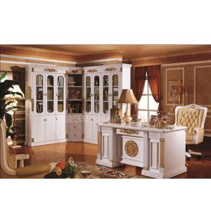 厂家供应3030#转角书柜,欧式书台,书房家具