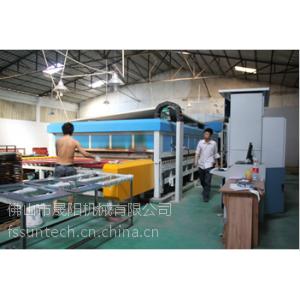 供应广东晟阳玻璃钢化炉主要作业界面
