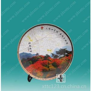供应厂家定做纪念瓷盘,瓷盘批发,鑫腾陶瓷,格