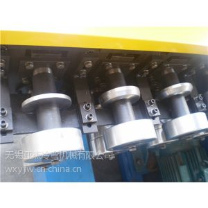 供应无锡新型悬臂槽式电缆桥架设备 PLC定长液压切断 跟踪剪切
