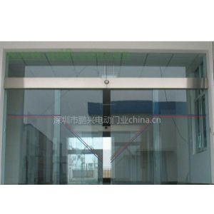 供应深圳市月亮湾感应玻璃门 海王大厦深圳湾地弹簧单开玻璃门服务