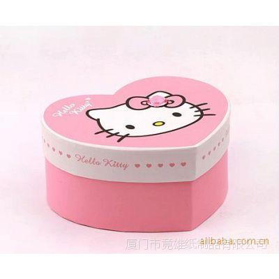供应印刷心形巧克力盒 纸制礼品盒 厦门包装盒纸盒加工