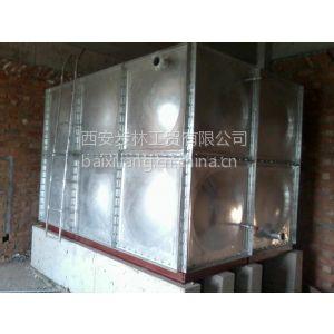 供应陕西西安装配式镀锌钢板水箱