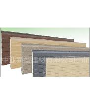 新型外墙保温一体板/一体化装饰板/保温装饰一体化板系统优势