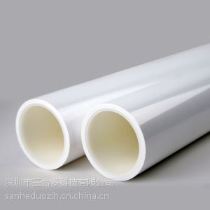 供应供应HDPE管 3寸PE卷心管 圆柱塑料管 白色塑料管