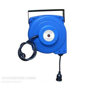 供应深圳宝润佳ADE系列电缆卷线器-自动回收电源线卷盘-3芯电缆收线盘