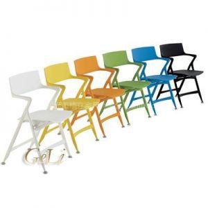 格友家具供应户外休闲椅塑料折叠椅