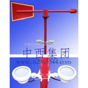 供应中西牌 带灯金属风向标(中西) 风向标型号:ZX3M/WPH1-MWS-R库号:M310592