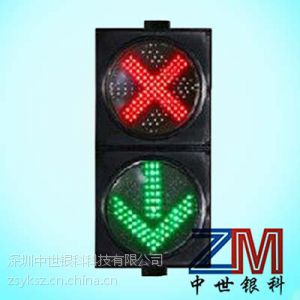 双面显示车道指示器红叉绿箭或带车行横洞三指示标志