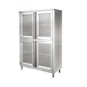 供应纱网式储物柜 储物柜 商用厨具 不锈钢厨具