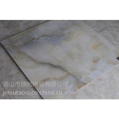 仿玉石超平釉超晶石 釉面砖仿大理石材纹路 客厅地面砖 宏宇同款大理石