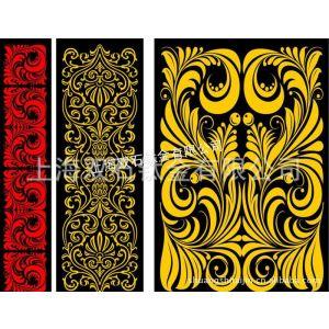 供应真空镀彩色花纹板、分色板,非蚀刻板,可自订图案