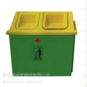 玻璃钢分类垃圾箱,玻璃钢树脂垃圾桶