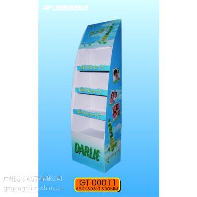 供应纸质展示架(平摊包装,拆装方便,节省运输成本。)