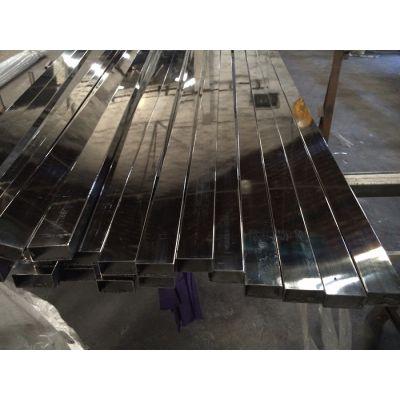 供应大量现货201不锈钢扁管 304不锈钢扁通