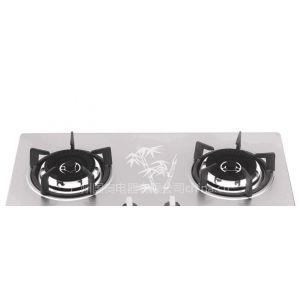 供应国奥厨房电器科瑞德钢化玻璃节能燃气灶KAZB-003Y