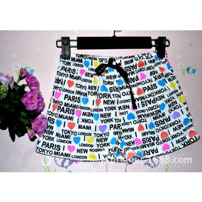 迪斯尼外贸原单童装短裤批发儿童夏季裤子款中小童男女童短裤