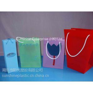 供应江苏苏州塑料PP礼品,促销手提袋