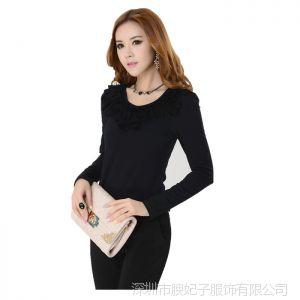供应韩版蕾丝边打底衫女装套裤工作服新款女士职业套装套裤套裙内衬