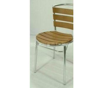 咖啡桌椅,铝木家具,餐桌椅 无扶手木椅 水曲柳木椅 餐椅 铝木椅 户外阳台木椅