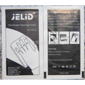 供应手机贴膜专用清洁包、数码屏幕清洁片、屏幕干湿巾(宝洁)