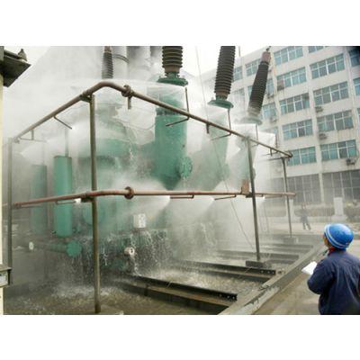 供应江苏常州苏州南通钢结构屋顶喷雾喷淋降温系统