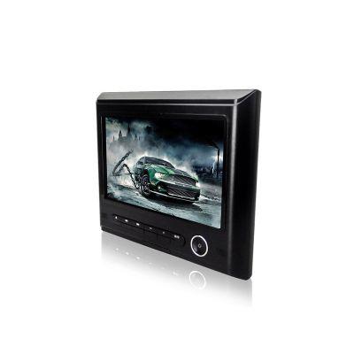 供应JOYOUS 9寸外挂汽车头枕DVD播放器 后座影音娱乐系统 支持多种DVD格式 支持音视频播放