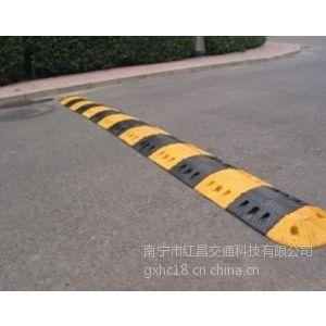 供应供应南宁红昌科技橡胶减速带,优质橡胶JLA-JSG道路减速设备