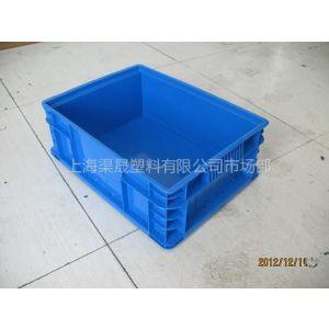 供应上海SVW物流箱400-300-148蓝色上海厂家直销