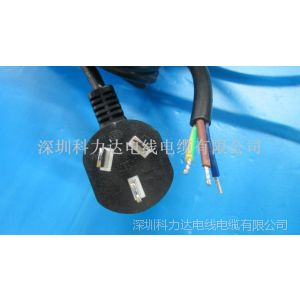 供应台式电脑电源线  CCC认证标准插头电源线
