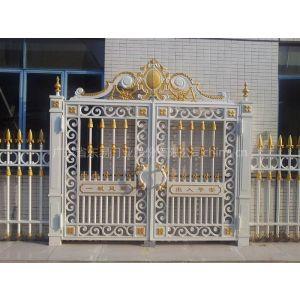 湖南碧桂园东易门业实心铸造庭院大门